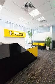Tecnoservice Reception #office #interior #design #bucharest