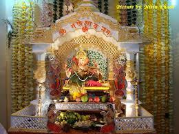 decoration ideas for ganpati utsav at home zhis me