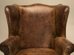Leather Wingback Chair For Sale Charming Leather Wingback Chairs Pics Inspiration Surripuinet
