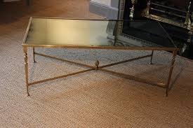 the 1950s french brass coffee table with antique mirror coffee low pertaining to antique mirror coffee table ideas