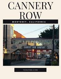 best cannery row ideas cannery row monterey  morning in monterey california a stunning sunrise steinbeck monument and cannery row