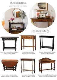 entrance tables and mirrors. antique and vintage-inspired console tables entrance mirrors
