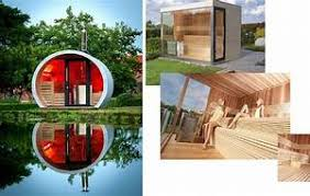 Amazing Sauna Exterieur Poele Bois Attachant Sauna Exterieur Avec Poele A Bois Id  Es D Coration Int Rieure