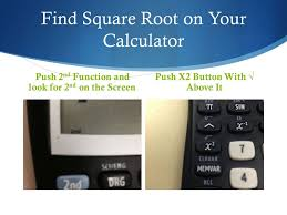 8 find square root on your calculator push 2 nd function and look for 2 nd on the screen push x2 on with above it