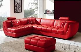 awesome red leather sofas red leather sectional sofa magazine