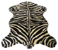 faux zebra skin rug ivory and brown stripe rugs by ecofo faux animal rugs ikea