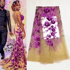 Sequined <b>Style</b> African High Quality Net Wedding Lace Fabric 2019 ...