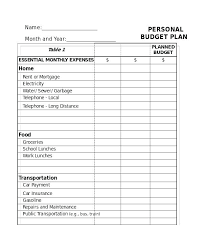 Free Budget Form Extraordinary Home Budget Template Free Excel Household Spreadsheets Simple