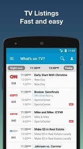 tv guide. tv listings by tv24 - us guide- screenshot tv guide e