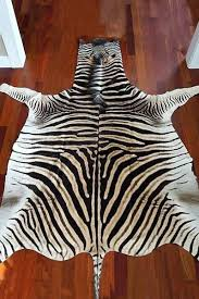 new authentic no felt zebra skin rug grade a hide uk