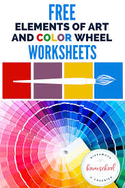Explore colors and more with our free printable color wheel activity pack. Free Elements Of Art And Color Wheel Worksheets Homeschool Giveaways