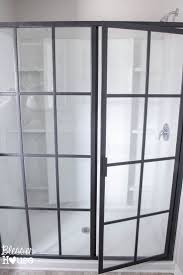 Rain Glass Bathroom Window Best 25 Industrial Shower Doors Ideas On Pinterest Industrial