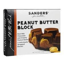Milk Chocolate Peanut Butter <b>2pc</b> - 4oz Blocks – Sanders Candy