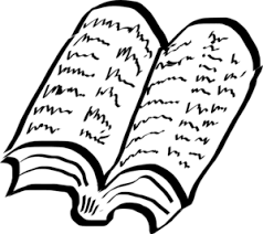 freehand drawing of book clip art