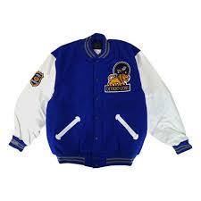 detroit lions mitchell ness 1953 authentic vintage wool leather varsity jacket