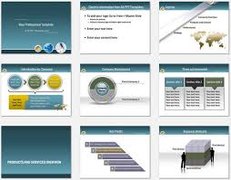 Template Professional Business Powerpoint Templates Planet
