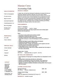 Job Description Sample Format Primary Accounting Clerk Resume