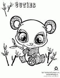 15 Idea Cute Panda Coloring Pages Karen Coloring Page