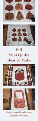 Build your own quilting frame, use regular sewing machine. | Free ... & Make a Fall mini quilt to get your home ready for this season. Adamdwight.com