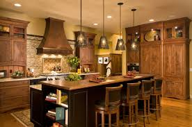 rustic kitchens with islands. Perfect Rustic Attractive Rustic Kitchen Island Light Fixtures Choosing Best Pendant  Lighting For Walls Interiors Kitchens With Islands