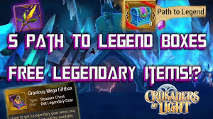 path to legend box crusaders of light