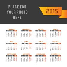 Simple 2015 Calendar Simple Ribbon Calendar 2015 Vector Free Vector Graphic Download