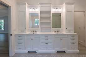 Classic Bathroom Custom Cabinet Gallery Modern Cabinets By Ernestrust