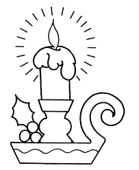 Small Picture Christmas Coloring Pages Candles Coloring Pages