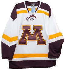 K1 Hockey Jersey Size Chart Amazon Com K1 Sportswear Minnesota Gophers Home Jersey