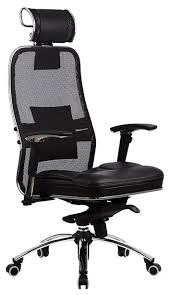 <b>Компьютерное кресло Метта Samurai</b> SL-3 для руководителя ...