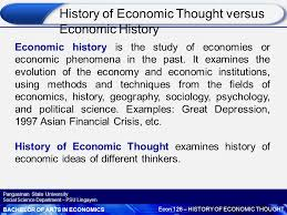 History of asian economic thought