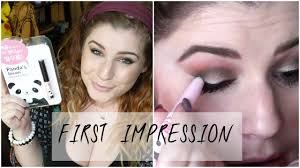 tonymoly panda s dream makeup eraser first impression demo