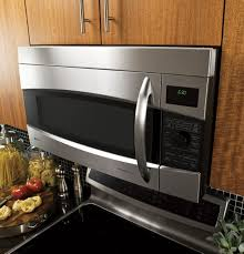 Ge Under Cabinet Microwave Ge Profile 17 Cu Ft Convection Over The Range Microwave Oven