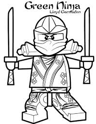 Coloring Simple Mandala Ninjago Ninjago Coloring Pages Kai Cartoon