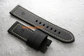 panerai black calf ponte vo strap 24 22mm oem new for 300 for from a trusted er on chrono24