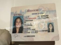 Id Fake Scannable Missouri Driver License - Great Buy Cards