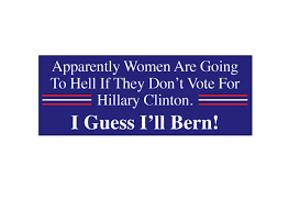 political campaign bumper stickers bernie sanders political campaign decal hillary clinton