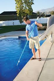 Terrific Swimming Pool Cleaner Pole Pictures Decoration Ideas