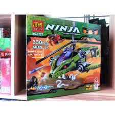Đồ chơi lắp ráp Non Lego Ninjago Bela 9757 Season Phần 2 Xếp Mô Hình Máy  Bay Rắn Minifigures Ninja Kai và Lloyd Gamardon