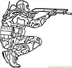 Free Printable Coloring Pages Soldiers Color Bros
