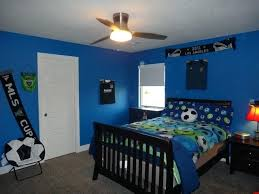 boys blue bedroom. Soccer Bedroom Opulent Design Ideas Boys Blue Bedrooms Football Themed Children S