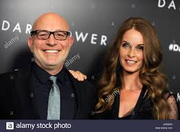 Akiva Goldsman and his wife Joann Richter attend 'The Dark Tower ...