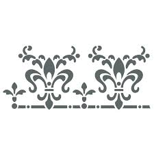 stenciled borders stencil borders wall border stencils pattern reusable template for wall decor stencil designs free