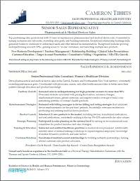 sales professional resume examples salesperson resume example medical device sales resume examples