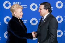 ЖЕЛЕЗНАЯ ЛЕДИ ПРИБАЛТИКИ Расследование о советском прошлом  Работая в Еврокомиссии Грибаускайте не забывала Литву Она постоянно жестко критиковала экономическую политику литовского правительства что позволило ей в