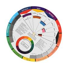 Permanent Makeup Pigment Color Wheel Mixing Guide For Tattoo Ink Chart Board Ebay