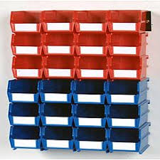 Pegboard storage bins Pegboard Hook Locbin Wall Storage12 Sm 12 Med Bins 26 Ct Sears Pegboard Storage Bins