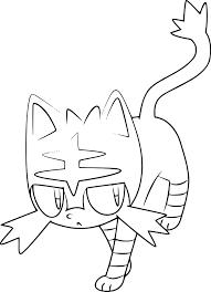Coloriage Flamiaou Pokemon Imprimer