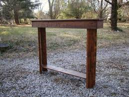 table for foyer. Reclaimed Pallet Foyer And Entry Way Table For