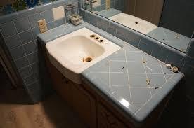 refinished tile bathroom